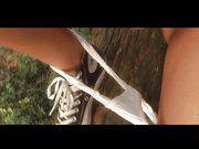 Geiler Striptease von fickgierigem Teen Girl im absolut unzensiertem Pornovideo